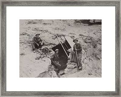 British Defenders Of The Tobruk Framed Print by Everett