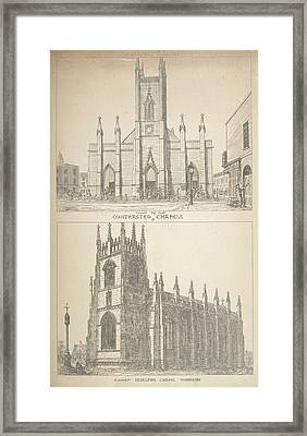 British Gothic Cathedrals Framed Print