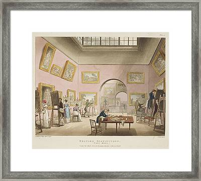 British Institution Framed Print by British Library
