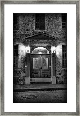 British - Jack The Ripper's Doorway II Framed Print by Lee Dos Santos