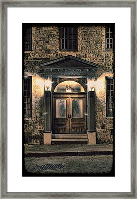 British - Jack The Ripper's Doorway IIi Framed Print