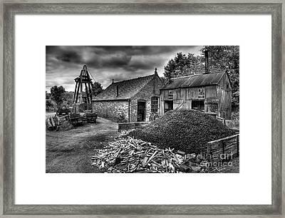 British Mine Framed Print