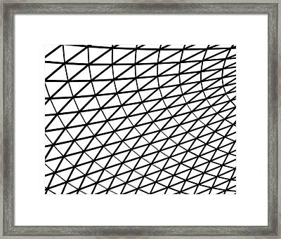 British Museum Geometry Framed Print by Rona Black