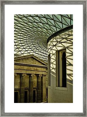 British Museum Framed Print by Heather Applegate