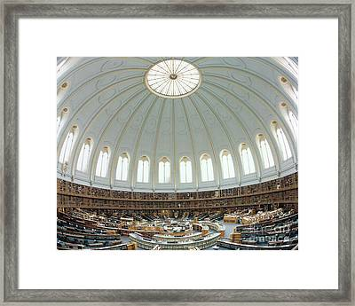 British Museum Reading Room Framed Print