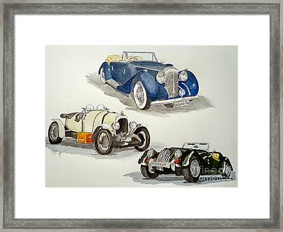 British Nostalgy Framed Print