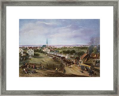 British Retreat, 1775 Framed Print