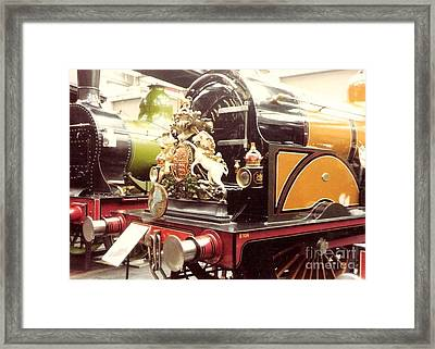British Royal Engine Framed Print