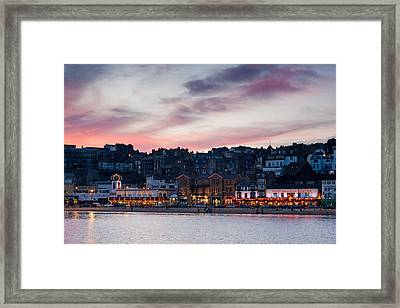 British Seaside Framed Print