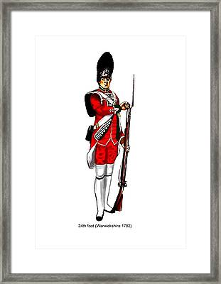 British Uniforms Framed Print by Valiant Knight