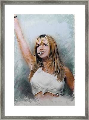 Britney Spears Framed Print