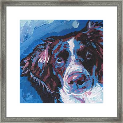 Britt Beauty Framed Print by Lea S