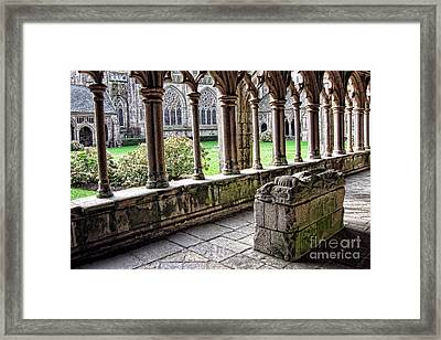 Brittany Cloister  Framed Print by Olivier Le Queinec