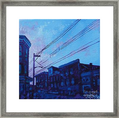 Broad And Front Framed Print