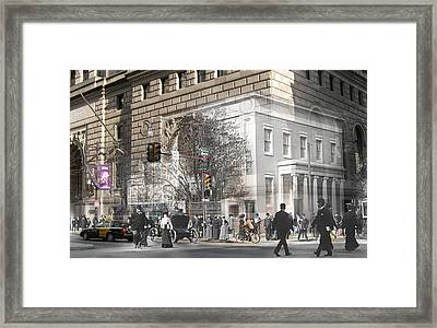 Broad And Walnut Framed Print
