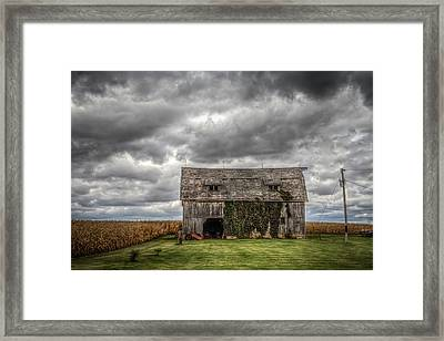 Broad Side Framed Print by Ray Congrove