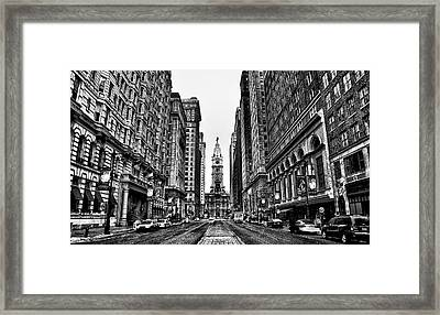 Broad Street  Framed Print
