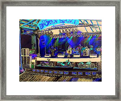 Broadband At The Broken Spoke Saloon Framed Print by Albert Puskaric