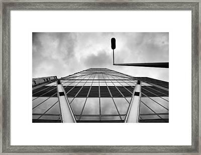 Broadgate Tower Framed Print