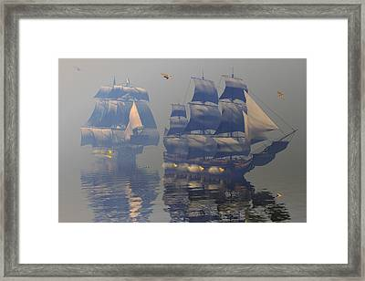 Broadsides Framed Print