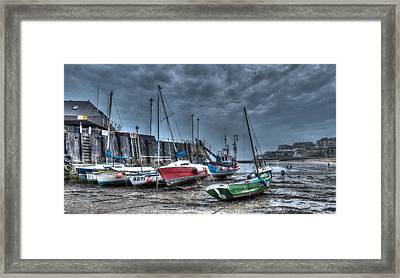 Broadstairs Harbour Framed Print