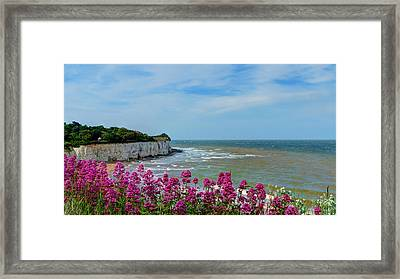 Broadstairs Sea Views Framed Print
