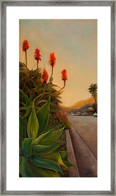 Broadview East Framed Print by Athena Mantle