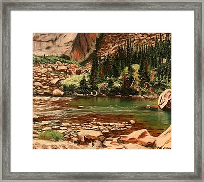Broadwater Pond Framed Print