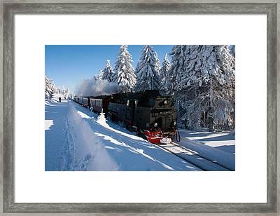 Brockenbahn Framed Print