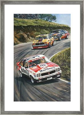 'brock's Bathurst 1979' Framed Print