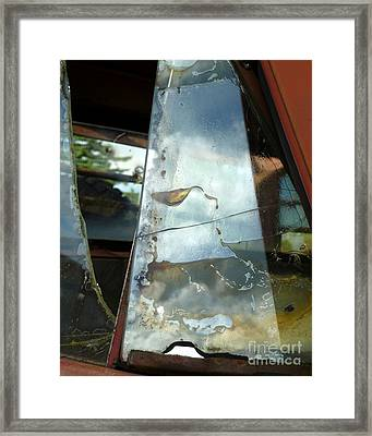 Framed Print featuring the photograph Broke by Newel Hunter