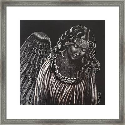 Broken Angel Framed Print