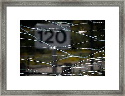 Broken Bad Framed Print by Odd Jeppesen