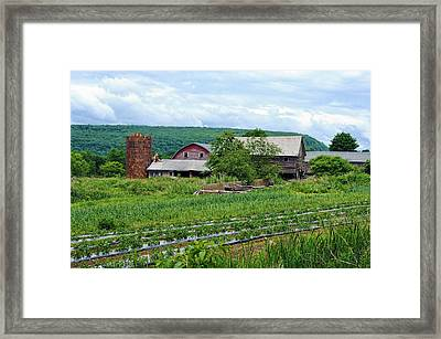 Broken Barn Framed Print by Kenneth Feliciano