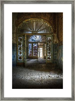 Broken Beauty Framed Print