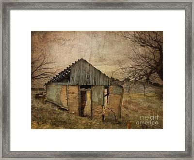 Broken Framed Print by Betty LaRue