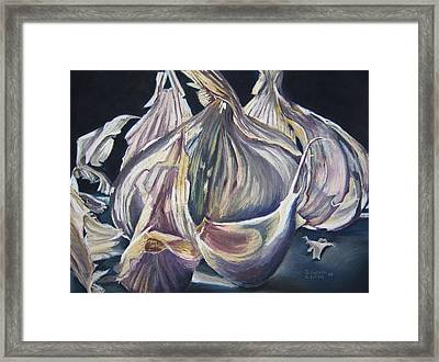 Broken Bulb Framed Print