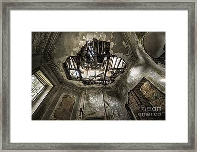 Broken Ceiling  Framed Print