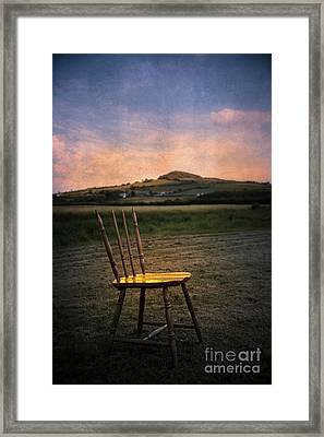 Broken Chair Framed Print by Svetlana Sewell