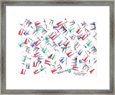 Broken Crown 03 Framed Print by Mirfarhad Moghimi