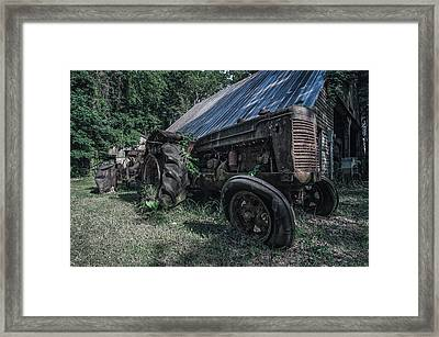 Broken Down Framed Print by Andy Crawford
