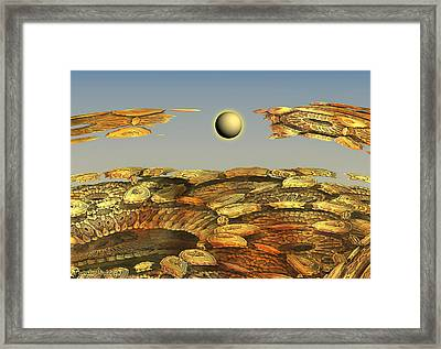 Broken Dreams In Buying Points. 2013 90/63 Cm.  Framed Print by Tautvydas Davainis