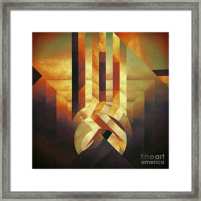 Broken Echo Framed Print