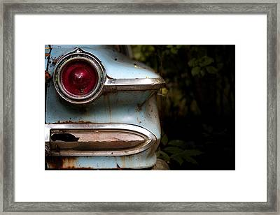Broken Elegance Framed Print by Rebecca Davis