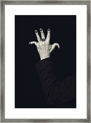Broken Fingers Framed Print by Joana Kruse