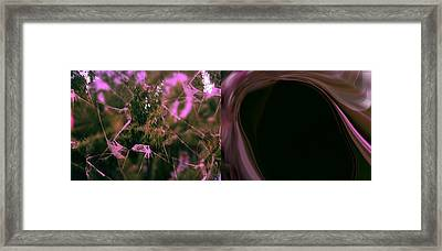 Broken Glass Framed Print by HollyWood Creation By linda zanini