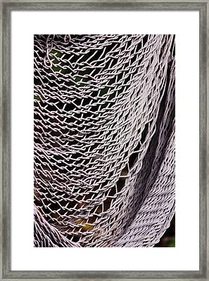 Medium image of broken hammock framed print by camille watson