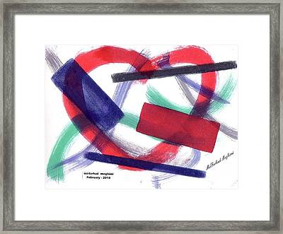Broken Heart 01 Framed Print by Mirfarhad Moghimi