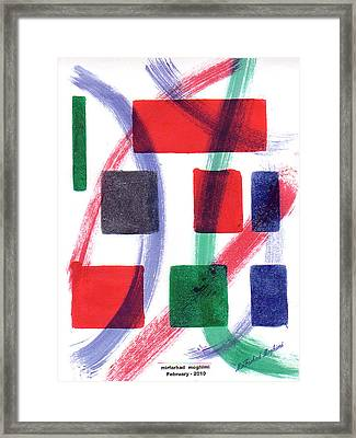 Broken Heart 03 Framed Print by Mirfarhad Moghimi
