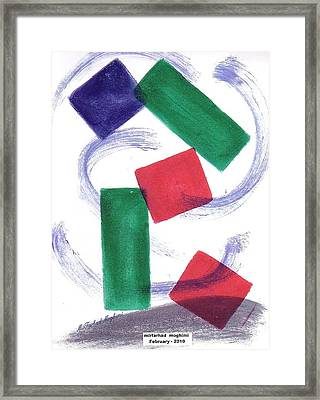 Broken Heart 05 Framed Print by Mirfarhad Moghimi